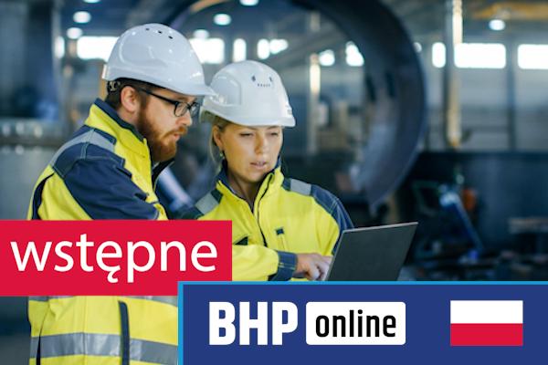 Szkolenie okresowe BHP dla  Szkolenie wstępne BHP dla pracowników służby BHP