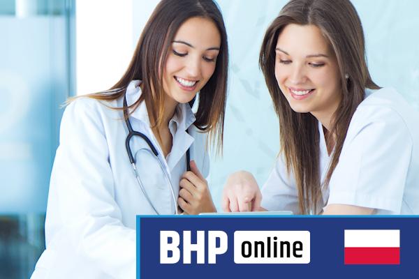 Szkolenie okresowe BHP dla  Pielęgniarek i personelu medycznego